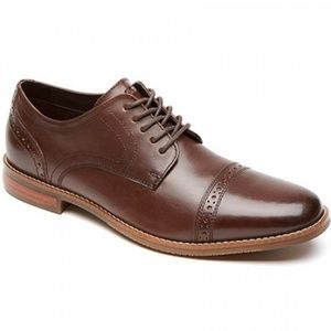 Rockport Style Purpose Cap Toe Oxfords Mens Size 9
